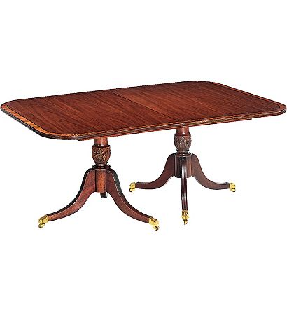 Baltimore Double Pedestal Dining Table