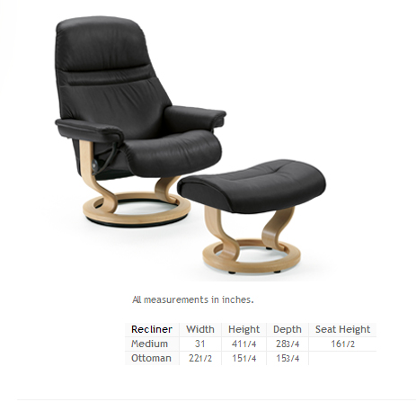 Stressless Sunrise - Medium