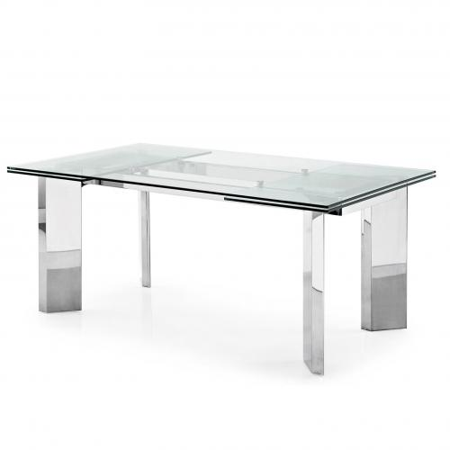 Tower Glass Extension Table