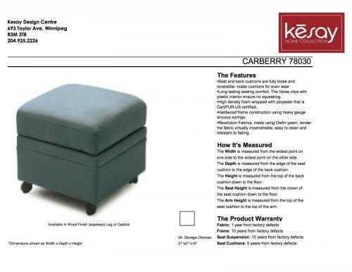 Carberry Ottoman