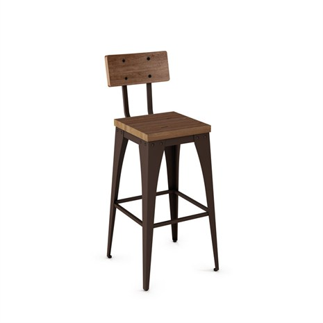 Upright Stool High Back