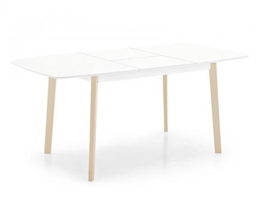 Cream Rect. Extension Table