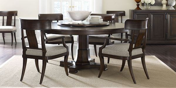 Harlowe Finch Adelaide Round Dining Table Thomasville Furniture