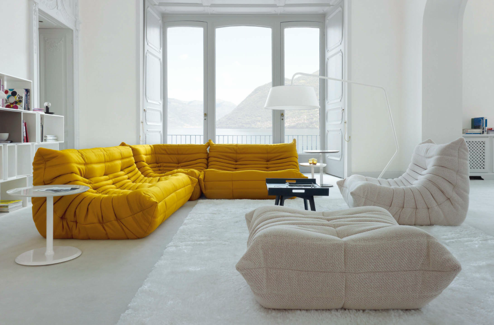 michel ducaroy s togo is a ligne roset classic the togo collection has ...