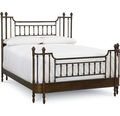 american anthem metal bed queen thomasville furniture and accessories at kesay. Black Bedroom Furniture Sets. Home Design Ideas
